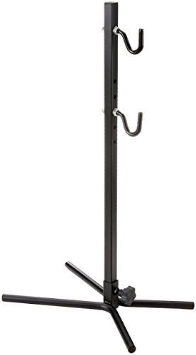 Point Fahrradhalter Präsentationsständer mit gummierten Haken - verstellbar für jeden Rahmentyp, schwarz, 13600201