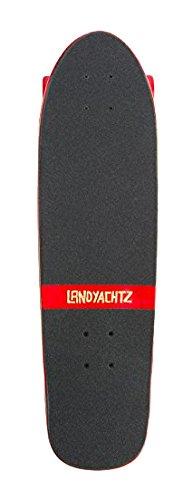 Landyachtz Dinghy Warrior Skateboard Completo Red Swirl 63mm