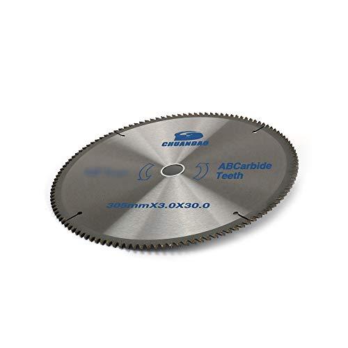 "WenFo 16""(400mm)×6/5""(30mm) Carbide Saw Blade,Carbide Circular Saw Blade For Cutting Aluminum material,Aluminum Plate-120T"