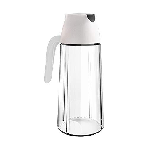LYY Kezhenyi Olie kan glas huishoudelijke keuken lekvrije kleine olieblik Fles voor het opslaan van Frituurolie en koken Vet (Snelle levering) (C)