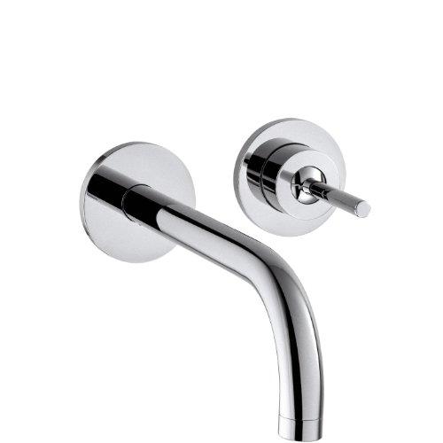 AXOR Wasserhahn Uno Unterputz (Armatur mit Auslauf Länge 225mm, Wandmontage) Chrom