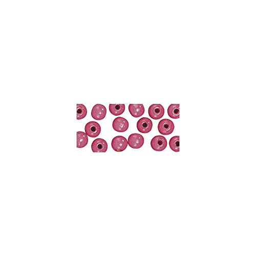 Rayher 1250233 Holz Perlen FSC 100{df0a5e484236af0949e055618cca131dbd5ae70dc13199a3059e2c1ca8cf27d5}, poliert, 8mm ø, SB-Btl 82Stück, p