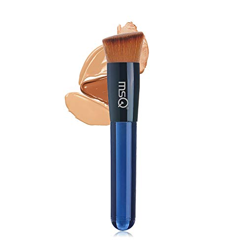 MSQ Makeup Pinsel Kabuki Foundation Brush Schrägkopf Makeup Pinsel Kosmetikpinsel Puderpuder...