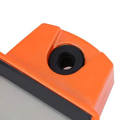 Báscula de peso digital, tamaño pequeño y liviano, mini báscula de pesaje colgante, portátil, con pantalla LCD grande, para negocios desde casa