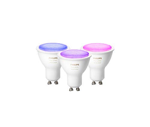 Philips Hue White and Color Ambiance, Faretti LED Intelligenti,...