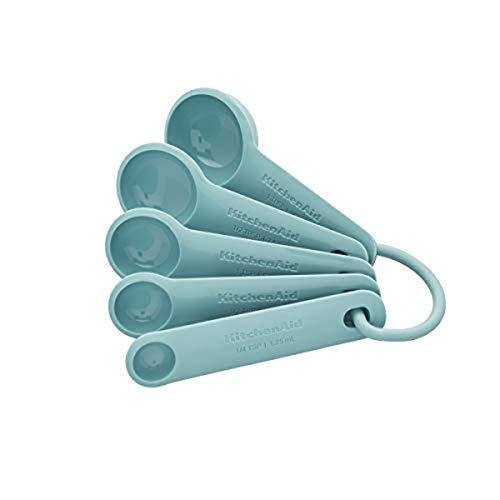 KitchenAid Universal Measuring Spoons Set Of 5 Aqua sky