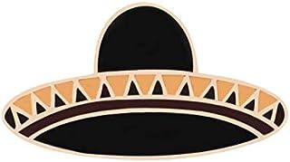WEHONG Cartone Animato Arcobaleno Cactus Uccello Spille Distintivo Spille Smaltate Chitarra Ananas Occhiali da Sole Cappel...