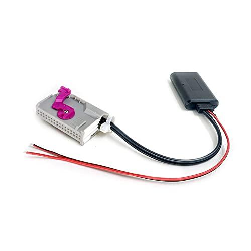 MENGZ Store Claves de eliminación de CD de 4 Piezas y Conector AMP de 32 Pines AUX AUX en el Adaptador de módulo Bluetooth inalámbrico Fit para Audi A3 A4 A6 A8 TT