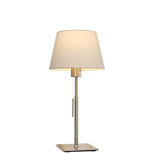liushop Lámpara Escritorio Dormitorio Moderno lámpara de cabecera Simple Estilo Europeo Interruptor de la Sala de Estar lámpara de Estudio Lampara de Lectura (Size : M)