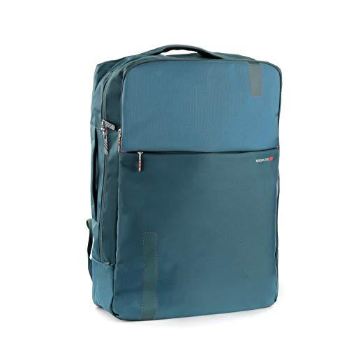 Roncato Speed Mochila de Viaje 15.6  Azul  Medida: 55 x 40 20 cm  Compartimentos Interiores