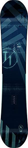 Nitro Snowboards Herren T1 BRD'20 Premium Twin Camber Freestyle Jib-Stick Boards Snowboard, Mehrfarbig, 152 cm