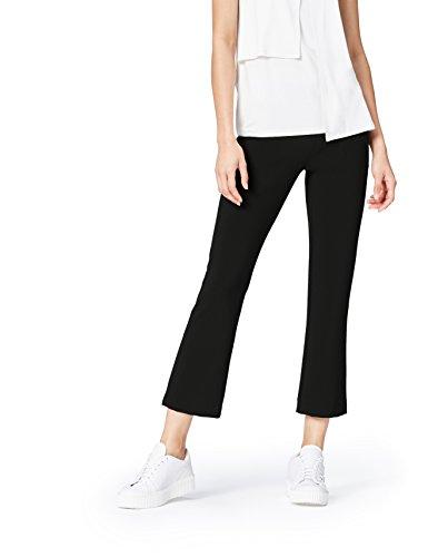 find. Pantalón de Campana por Media Pierna para Mujer , Negro (Black), 42 (Talla del Fabricante: Large)