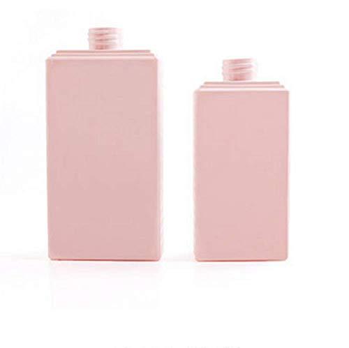 OOFAY Seifenspender, Shampooflasche, Reise-Unterflasche, PETG-Lotionsflasche, 300 ml, 500 ml,Pink,300ml