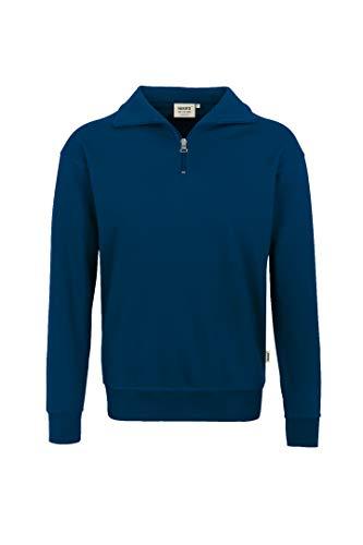 Hakro Zip Sweatshirt Premium, marine, L