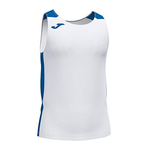 Joma Camiseta Tirantes Record II Blanco Royal