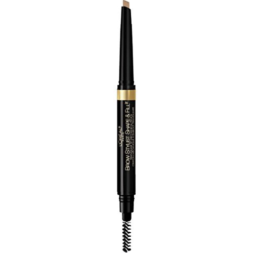 L Oreal Paris Brow Stylist Shape and Fill Pencil, Blonde