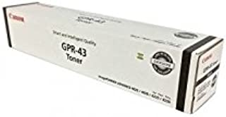 Canon 4792B003AA (Gpr-43) Black Toner Cartridge for imageRunner Advance 4025, 4035, 4225, 4235