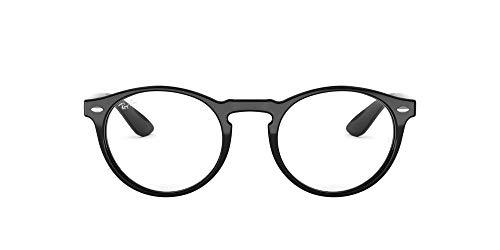 Ray-Ban RX5283 – anteojos de sol redondas para hombre, no polarizadas, lentes de demostración, color…