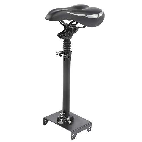 FOTABPYTI Sillín de Scooter a Prueba de Golpes, cómodo y Agradable Asiento Ajustable para Scooter, aleación de Aluminio + ABS 1 Juego para Scooter eléctrico MAX-G30 Nine-BOT