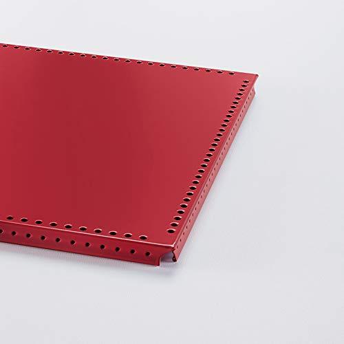 Swissmobilia Tableau intérieur pour USM Haller RAL 3003, rouge rubis, élément métallique, différentes dimensions du système, dimensions du système : 500 x 175