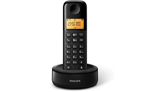 Philips D1301B - Teléfono inalámbrico...