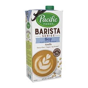 Pacific Foods 4294 Pacific Barista Series Soy Vanilla Beverage (SET OF 12 PER CASE)