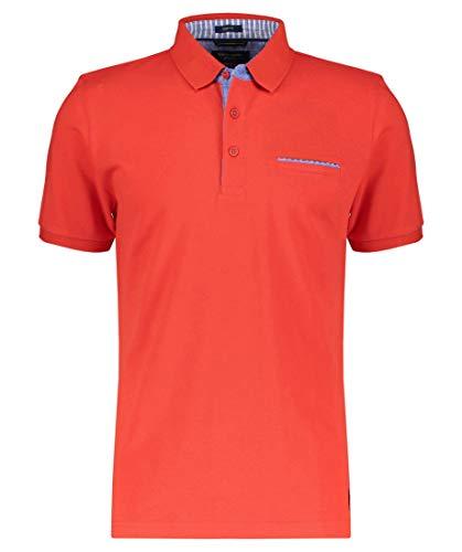 Pierre Cardin Poloshirt mit Brusttasche rot (5080 HOT) XXXL