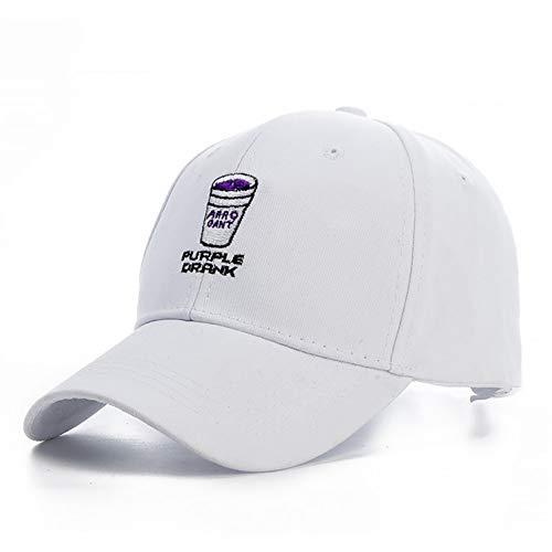 Honkbalpet cap pet heren nonchalant katoen paars gedronken papa hoed baseballmutsen hysteresen vrouwen borduurwerk hoeden botten casquette Gorras