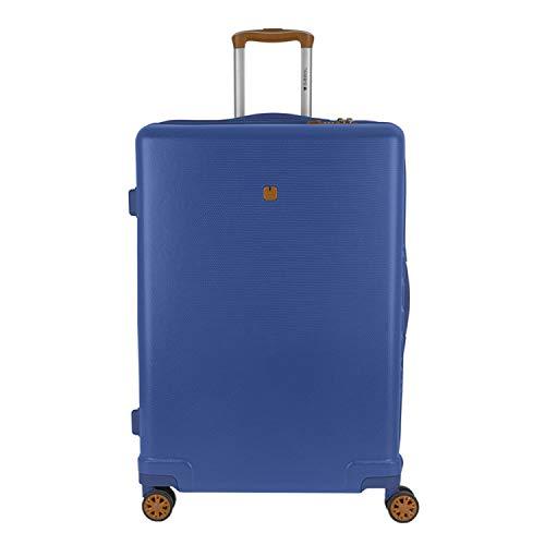 Gabol Mosaic | Large Rigid Travel Suitcases 52 x 75 x 28 cm with 90 L Capacity Blue