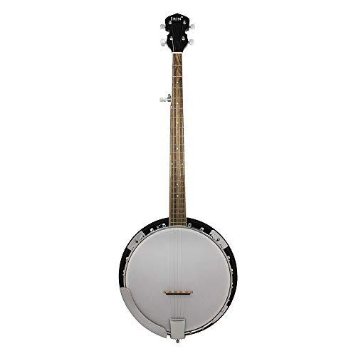 EASON Banjo de Cinco Cuerdas, tecnología Diapasón de Madera PVC Piano Banjo Calidad Tono de Madera Hermoso Aspecto Hermoso