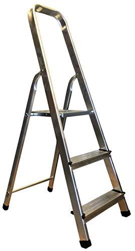 Homelux 825001 Escalera Domestica, 3 Peldaños, 3 kg
