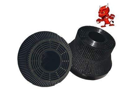 SPARSET 2 Aktivkohlefilter Kohlefilter Filter passend für Dunstabzugshaube Teka TL1 62, TL1-62