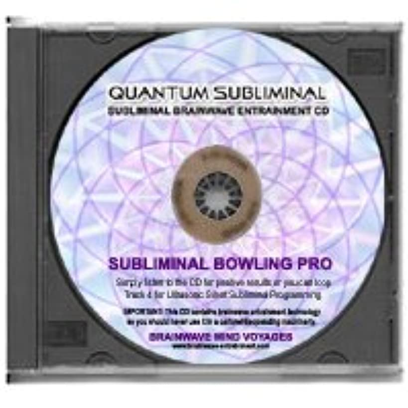 BMV Quantum Subliminal CD Improve Bowling Skills: Bowler Pro (Ultrasonic Peak Sports Performance Series) qnn9267751161032