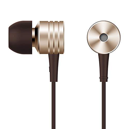 1MORE E1003 Piston Classic Auricolare In-Ear Stereo Universale Filo con Telecomando e Microfono per Apple Iphone Ipod Ipad, Android Smartphone, Tablet, MP3 (Oro)