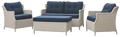 Rattan Gartenmöbel – Garten Lounge Set kaufen  Bild 1*