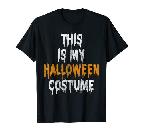 Este es mi disfraz de Halloween de ltima hora Camiseta