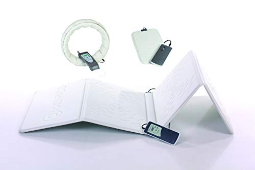 OMI Package 01 - Magnetic Field Therapy Mat, Ring and PulsePad - for Natural Healing, Pain Relief and Good Mental Health