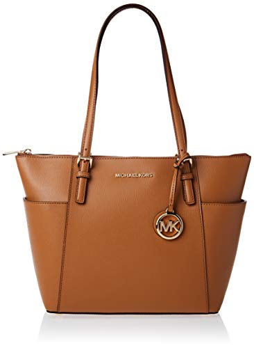 """Dimensions: 12""""W x 10""""H x 5""""D Double Handle with strap drop of 10"""" Fashion Trend: Shoulder Bag Leather Tote Zipper Closure"""