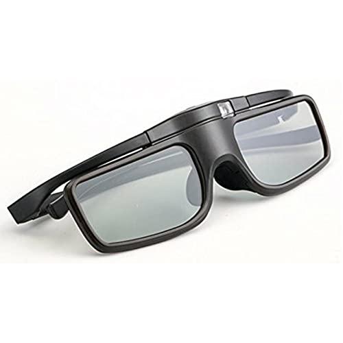 MARSPOWER Gafas Activas Inalámbricas 3D Gafas Gafas Activas Inalámbricas Oficiales 3D TW5210 / 5400/5600/8200/9300 - Negro