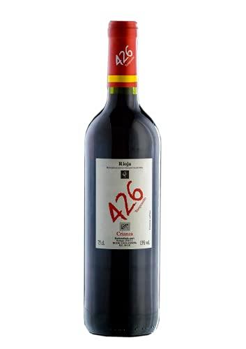 426, Vino tinto crianza, cosecha 2018, 75CL, D.O.Ca. Rioja