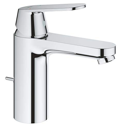 """Grohe Eurosmart Cosmopolitan - Grifo de lavabo 1/2"""", tamaño M, con vaciador automático (Ref. 23325000)"""