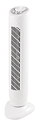 Fine Elements Oscillating Tower Fan with 3 Speed Selection, 30-Inch