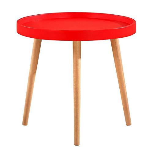 ALYR Sofa Beistelltisch, Sofatisch, Beistelltisch für kleine Räume, Kleiner Couchtisch, für Kaffee Snack Laptop, für Wohnzimmer Schlafzimmer Balkon und Büro,B