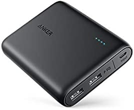 Anker Powerbank PowerCore 13000 - Power Bank Tascabile Ultra-Compatto da 13000mAh a Ricarica Rapida PowerIQ e VoltageBoost per iPhone, Samsung, Huawei e Altri