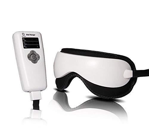 Augenmassagegerät mit, Massagegerät für Augen mit Heizung und Musik, Shock Three Modes, Augenpflege Stress Relief von Naipo