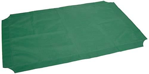 Amazon Basics – Funda de repuesto para la cama para mascotas elevada y aireada, mediana, color verde