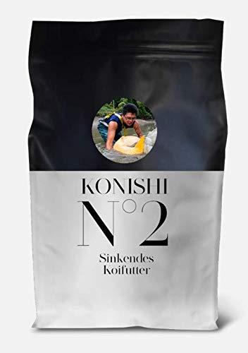 KONISHI Nr 2 Sink Neu Koifutter Fischfutter (1 x 5 kg)
