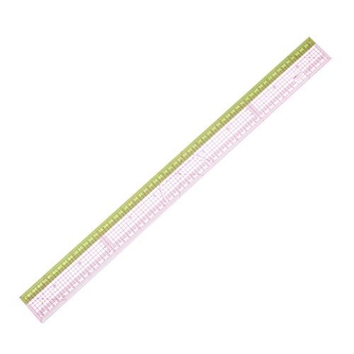 DIHAN #3019 - Regla de clasificación de 60 cm para confección de patrones de moda y sastres