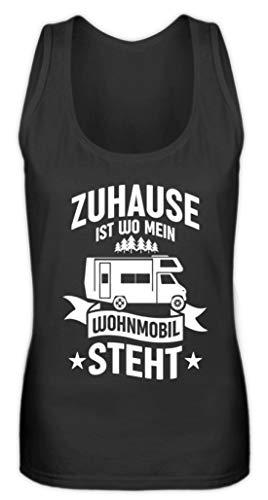 Values Thuis ist wo Mein Wohnmobil Stht I Camper & Nomaden Geschenk - Vrouwen Tanktop
