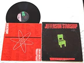 Jefferson Starship Nuclear Furniture - Grunt Records 1984 - Used Vinyl LP Record - Paul Kantner - Layin It On The Line
